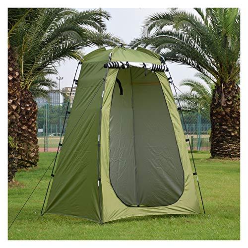 Tienda de campaña Camping al aire libre Ducha impermeable Tienda de baño Tienda portátil Cambio de montaje Cambio de asfugio Senderismo Playa Playa Al aire libre Tienda grande ( Color : Army Green )