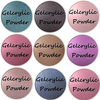 SHEBA NAILS Gelcrylic Powder CROWN JEWELS SAMPLER KIT