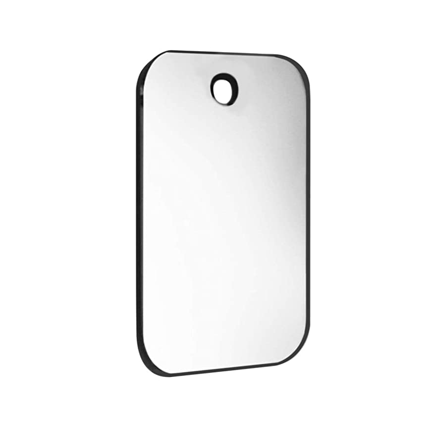 Lightweight Shatterproof PVC Anti-Fog Fog Free Shower Mirror Bathroom Fogless Shaving Shave Mirror