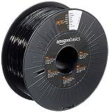 Amazon Basics PETG 3D Printer Filament, 1.75mm, Black, 1 kg Spool