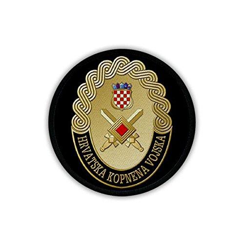 Patch/Aufnäher - Kroatisches Heer HKoV Hrvatska kopnena vojska Kroatische Streitkräfte Teilstreitkräfte Soldaten Hrvatska vojska Kroatien Militär Wappen Abzeichen #19234