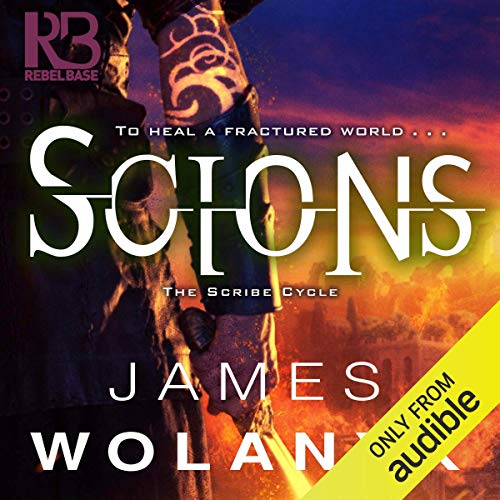 Scions audiobook cover art