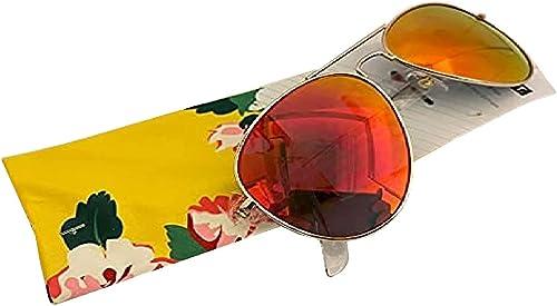 2021 Foster Grant Unisex online sale Men Women sale Aviator Mirrored Summer Sunglasses With Pouch online sale