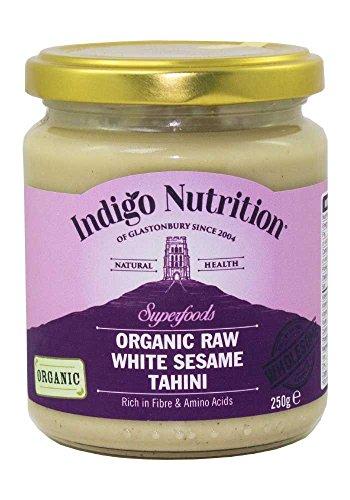 Roh BIO Weiß Sesam Tahin - Raw Organic White Sesame Tahini - 250g