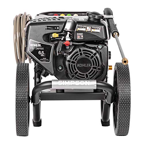 SIMPSON Cleaning MS60763-S MegaShot Gas Pressure Washer Powered by Kohler RH265, 3100 PSI at 2.4 GPM