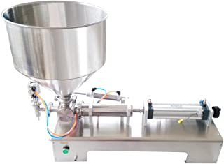 90-1000ML Filling Filler Machine For 100-1000ml for Cream,Honey,Sauce,Cosmetic,Tooth Paste 110V