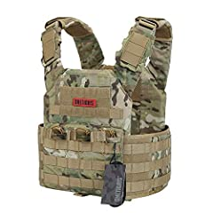 500D Cordura Nylon Plenty of molle webbings for attachments Adjustable to fit most Loop panel for holding patches