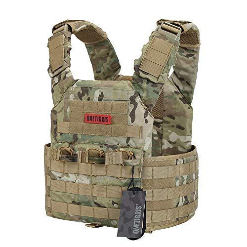 OneTigris Multicam Tactical Vest (Multicam)