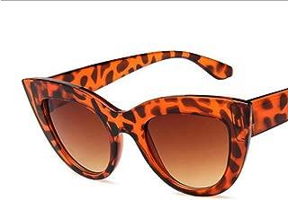 GLJJQMY Ladies Polarized Sunglasses Cat Eye Sunglasses Pilots Hikers Sunglasses Women's Sunglasses (Color : Gray)