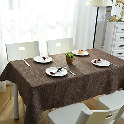 QWEASDZX Mantel Paño de poliéster Impresión Digital A Prueba de Aceite Antifouling Mantel Rectangular Mantel Multiuso Mantel de Picnic Adecuado para Interiores y Exteriores 140x220cm