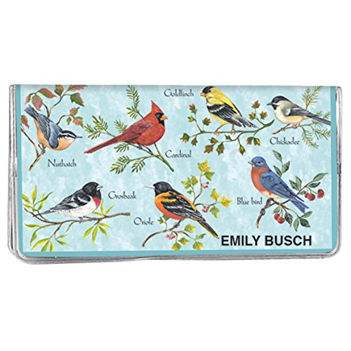 Personalized Songbirds Two Year Planner, 2021-2022 - Pocket Sized Calendar Ideal for Purses, Briefcases, or Backpacks – 6 ¾ inches x 3 5/8 inches