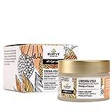 Natyr Gesichtscreme mit Mango und Papaya und Aloe Vera 50 ml - Anti-Aging Feuchtigkeitscreme für eine glatte und strahlende Haut - gegen Falten & trockene Haut