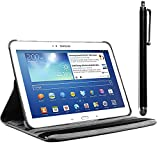 ebestStar - Compatible Coque Samsung Galaxy Tab 3 10.1 GT-P5210, 10 P5200 P5220 Housse Protection Etui PU Cuir Support...