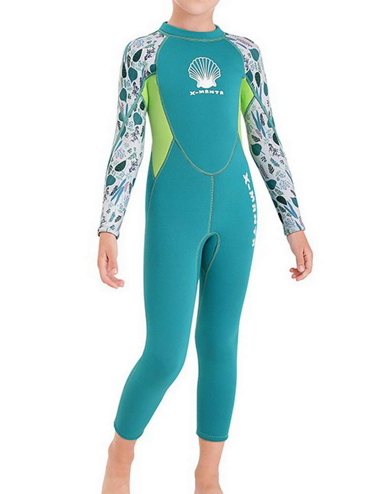 Full Suit and Shorty Swimsuit Youth Boys Girls One Piece Wet Suits for Scuba Diving 2.5 mm Neoprene Thermal Swimsuit Skijakkeset Kids Long Sleeve Diving Suit