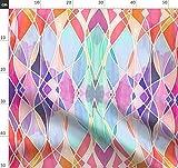 lila, abstrakt, aquamarin, bunt, magenta, Struktur, gemalt,