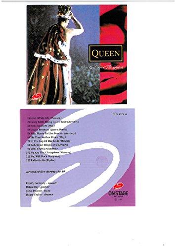 God save the Queen - The live experience (1992 prima edizione - timbro siae)