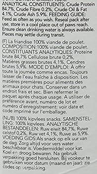 Thrive Friandises pour chat 100 % poulet Tube XL