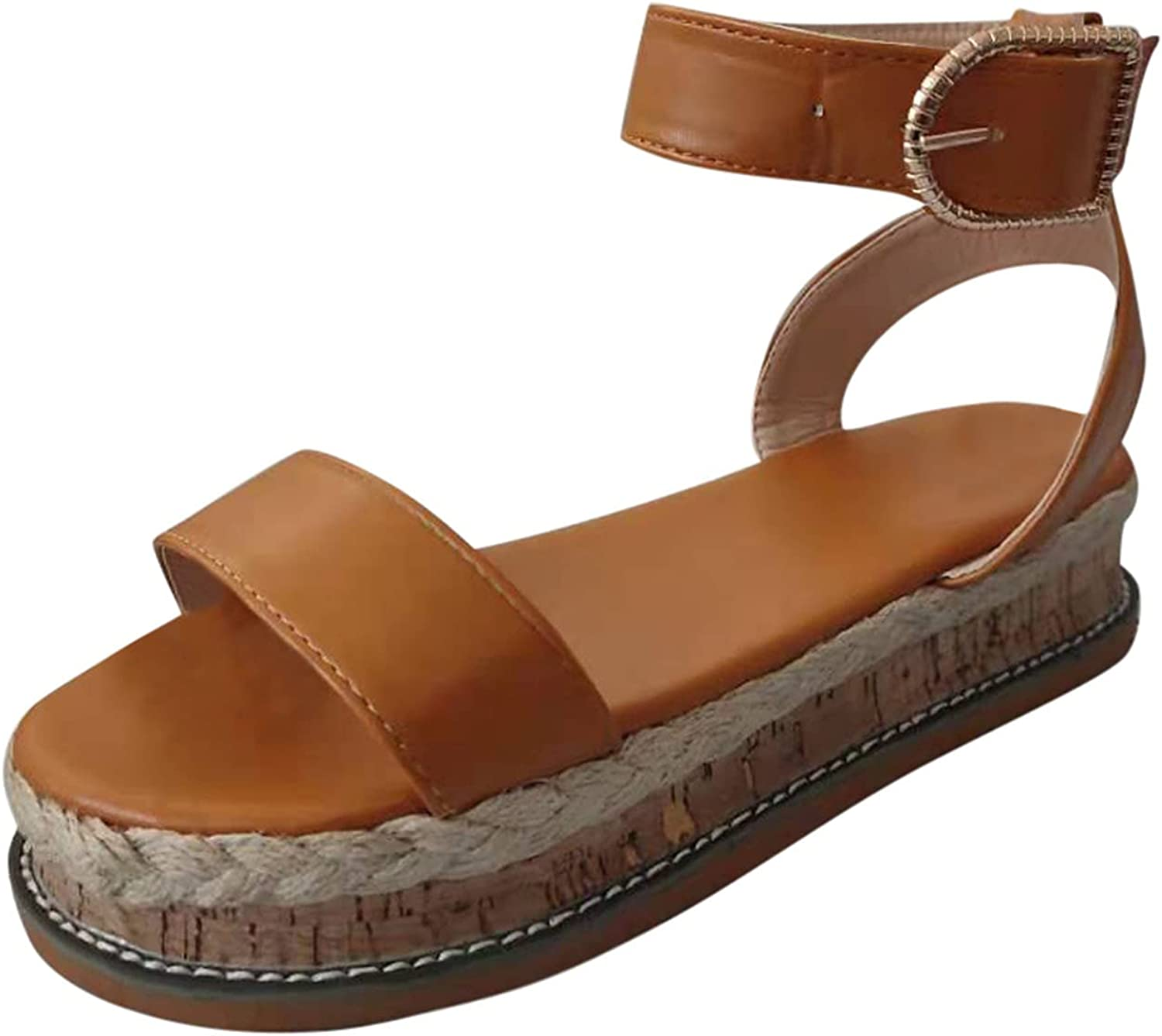 outlet Gyouanime Platform Sandals for Womens Shoes Heeled Casual Jacksonville Mall Summer