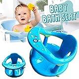 NNGT Baby-Badesitz, Baby-Baby-Badewannensitz zum Sitzen Baden Baby-Badewannensitz mit Rückenlehnenstütze Und Saugnapf-Badesessel, Baby-Badehocker für 6 Monate