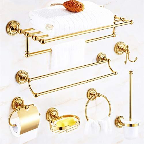 U/D Sygjal Conjunto de Hardware de baño Accesorios de baño Estante de baño Pabellón de baño Tenedor de Papel higiénico Dispensador de jabón Robe Gancho
