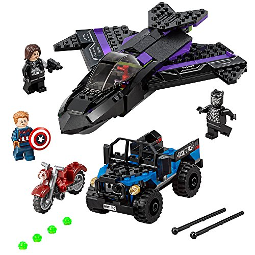 LEGO Super Heroes Black Panther Pursuit...