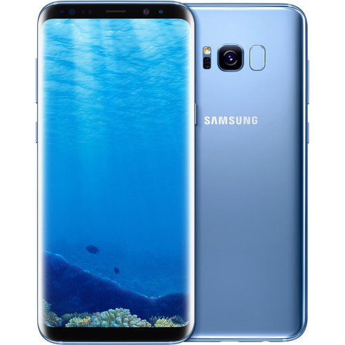 Samsung Galaxy S8+ 64GB Unlocked Phone - 6.2' Screen - International Version (Coral Blue)