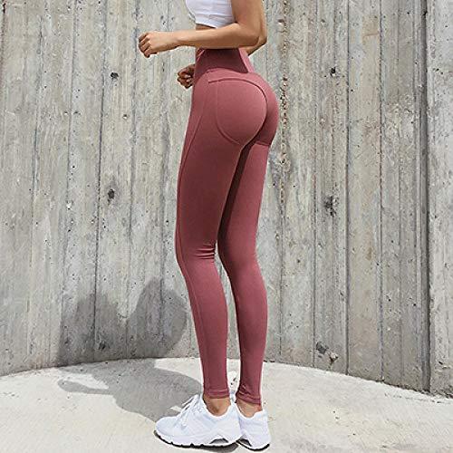 Naadloze yoga-legging met hoge taille voor dames,Nylon yogabroek, Scrunch Butt-legging met hoge taille, voor fitnessvrouwen Push-up sportleggings, hardlooptights