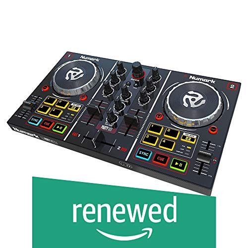 Discover Bargain Numark Party Mix | Beginners DJ Controller for Serato DJ Intro With 2 Channels, Bui...