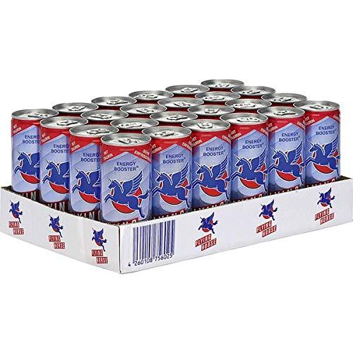 24 Dosen Flying Horse Energy Drink a 250 ml in Dose inc. 6,00€ EINWEG Pfand