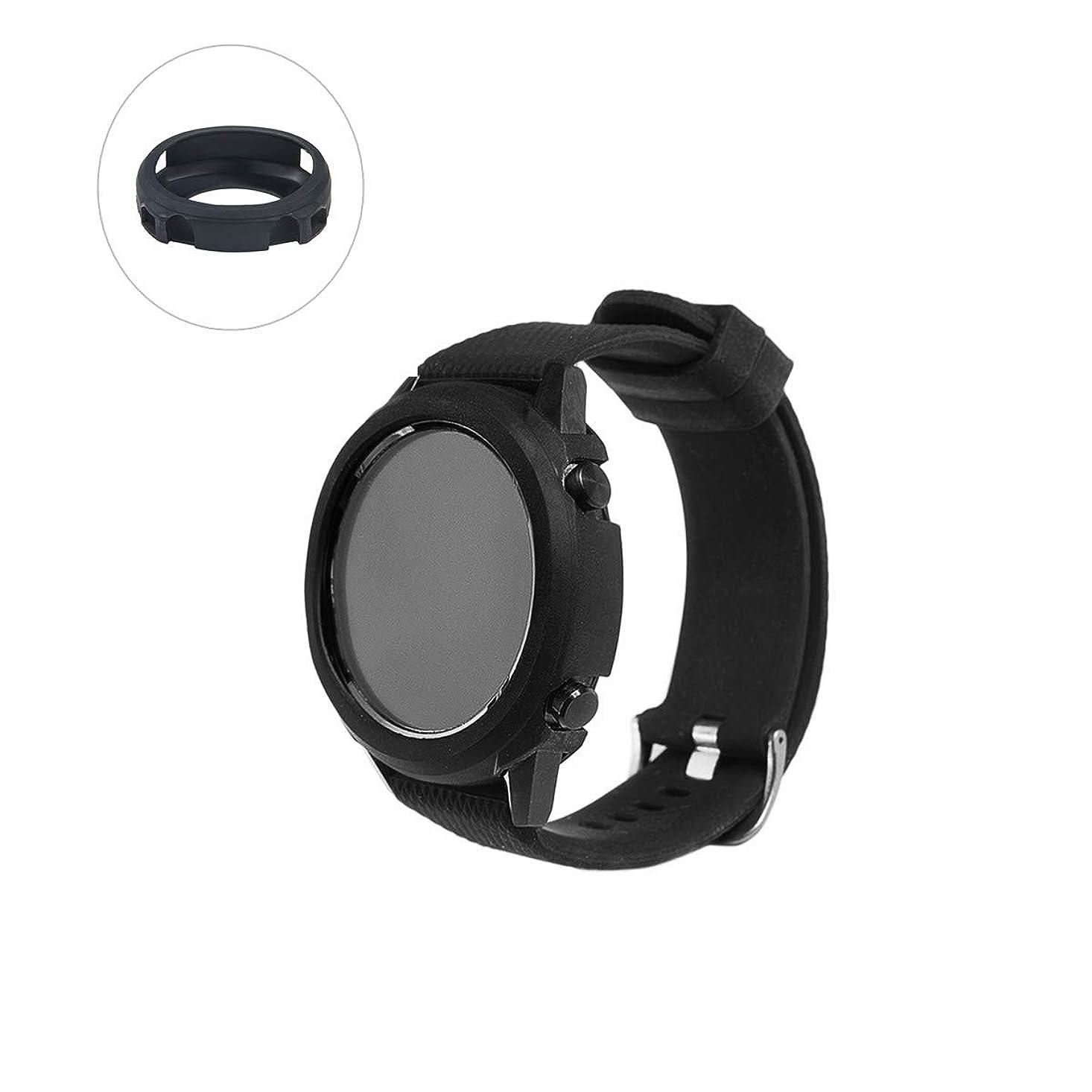 ビリー親指控えめなLichifit Huawei Watch GTケース 保護カバー TPUプロテクター 全面保護 衝撃吸収 Huawei watch gt用アクセサリー ブラック