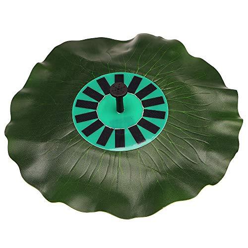 Anself Solar-power Lotus Leaf Fountain Pond Brushless Water Pump with Monocrystalline Solar Panel