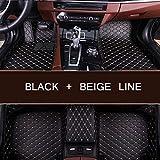 YJLOVK für für Nur benutzerdefinierte Auto Bodenmatte für Toyota Mark X Prius XW30 Prius Reiz...