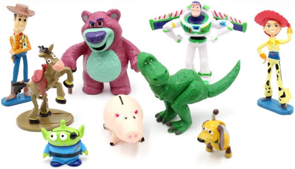 9 PCS Toy Topics on TV Story Cake mini Figurines Cupcake Decorations Toppers Dealing full price reduction