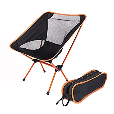 Ultralight Portable Folding Chair Compact Comping Chair for Fishing Beach Camping BBQ, Picnic Travelling Hiking and Rest