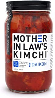 Mother In Law's Kimchi - Daikon Radish, MUU 16 Fl Oz | Pack of 6