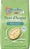 Mulino Bianco Cracker Fiori d'Acqua con Meno Grassi, Snack Salato per la Merenda, Senza Olio di Palma, 250 g