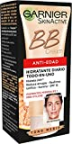 BB Cream Anti-Edad | Crema Correctora Anti-Imperfecciones para Piel Madura, Tono Medio  - 50 ml