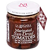 Marinated Sun-Dried Tomatoes, 8.8 oz Glass Jar, Mediterranean Flavor for Your Favorite Dishes, Gluten-Free and Vegan, Only Natural Ingredients, Non-GMO