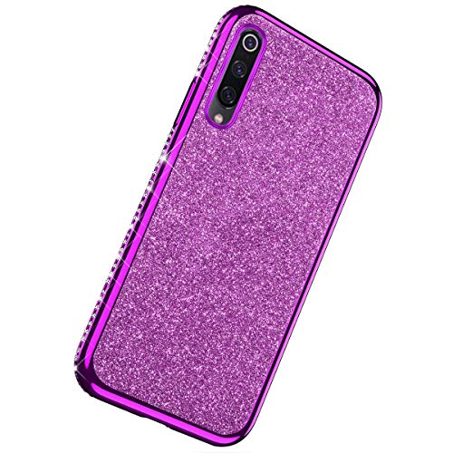 Buy Bargain Herbests Compatible with Xiaomi Mi 9 SE Case Glitter Cute Girl Women Bling Crystal Diamo...