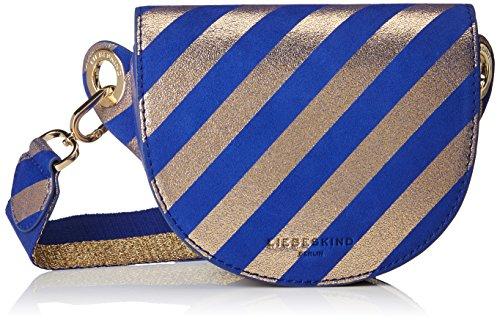 Liebeskind Berlin Mixedbbh8 Venus Belt Bag 4 x 13 x 17 cm, Blu (Blu (Deep Blue)), 4x13x17 cm (B x H x T)