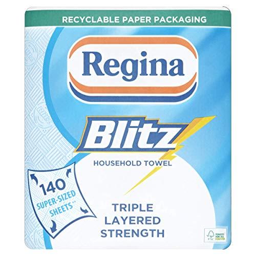 Regina Blitz Super-sized Household Towel Rolls, Pack of 2