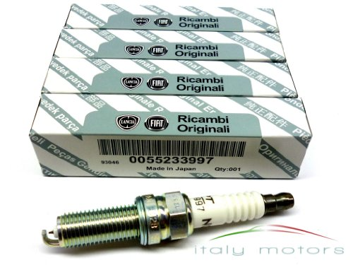 Originele Fiat Panda Fiat Punto 0,9 62 Kw 85 PS bougies set van 4 NGK - 55233997