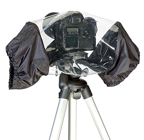 Phot-R® Universal Waterproof Rain Cover with Lens Protection for Digital Came.