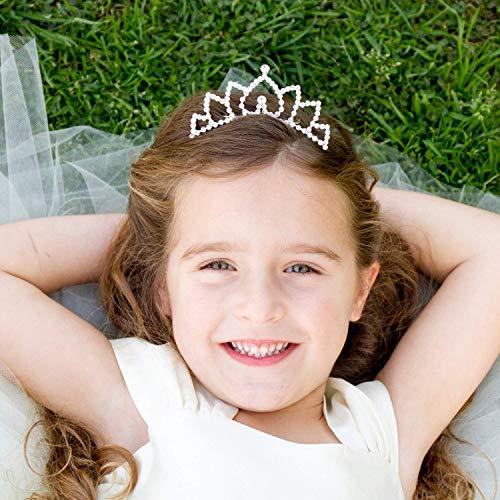 Flower Girl Bridesmaid Bridal Princess Tiara Comb