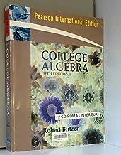 College Algebra : International Edition