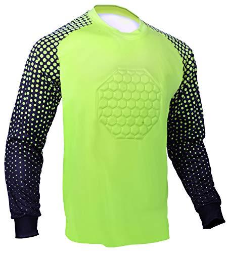 Soccer Goalie Shirt (Lime Green, Youth Large)