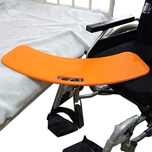 GLJY Gebogenes Transferbrett für ältere Menschen, Behinderte, Behinderte - Gebogenes Transferbrett - Rollstuhl-Transferhilfe & Gleitbrett