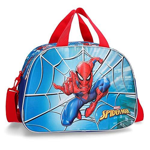 Marvel Spiderman Street Bolsa de Viaje Multicolor 40x28x22 cms Poliéster 24.64L