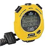 Finis Stopwatch 3X 300m Cronómetro para natación (300 entradas de Memoria), Unisex, Amarillo, Talla única
