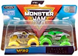 MJ Monster Jam Double Down Showdown Max-D and Alien Invasion